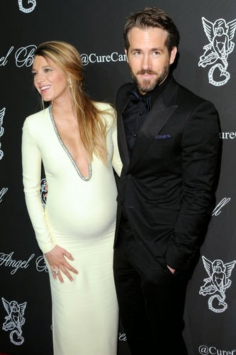 pregnant Blake Lively fascinated