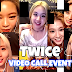 TWICE had a video call with lucky fans!