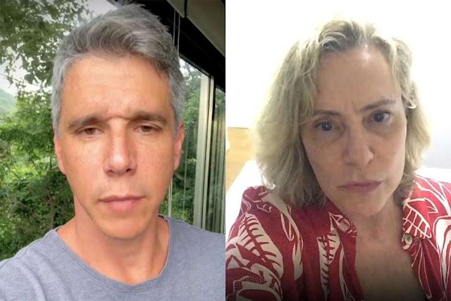 Marcio Garcia e Elizabeth Savalas pedem orações para parentes com covid-19