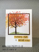 Sheltering Tree card by Michelle Long, CASEd by Lauren Huntley of Crafty Hippy
