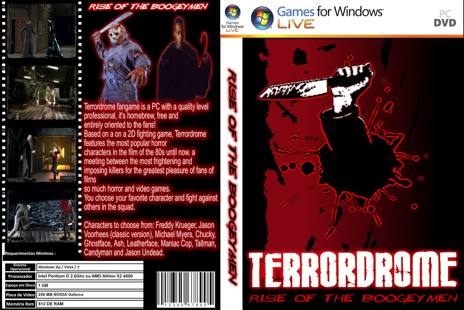 BAIXAR TERRORDROME PC