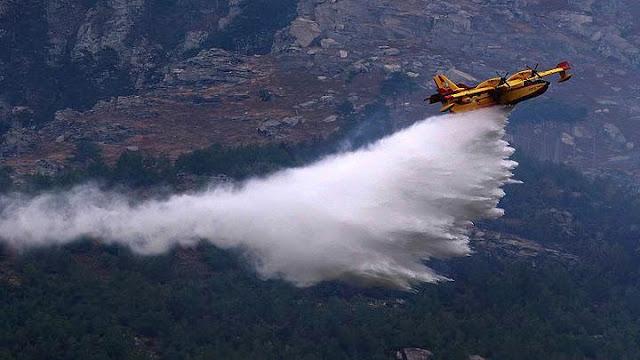 Φωτιά στη Μεσσηνία - Κινητοποίηση και αεροσκαφών για την κατάσβεση