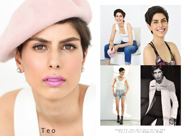 Teo - Sydney Model Agency Portfolio Photoshoot And Comp Card - Photography by Kent Johnson