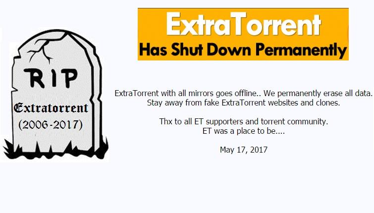 extratorrent.cc shutdown