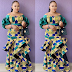 Check Out This Stylish Ankara Long Gown Styles for Curvy Ladies