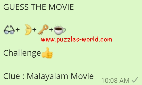 Guess the Movie Malayalam Movie