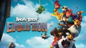Angry Birds Apk Mod v1.21.0 Evolution (One Hit Kill With God) The Latest Mode