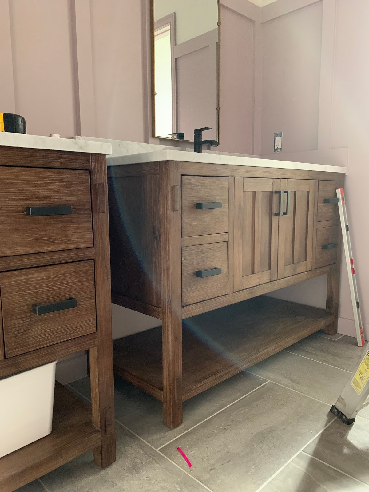 Morris Vanity | Primp and Pamper Bathroom Makeover sponsored by Signature Hardware and Build.com | House Homemade