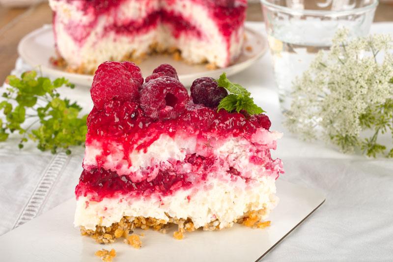 Kuchen ohne Backen. Milchreis- Torte. Edyta Guhl.