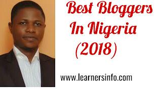 BEST BLOGGERS IN NIGERIA
