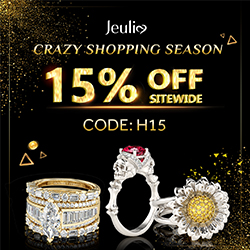 Jeulia Shining Wedding bands Shopping