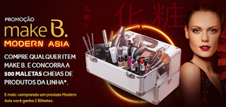 Promoção Make B Modern Asia