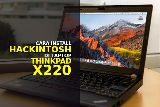install hackintosh thinkpad x220