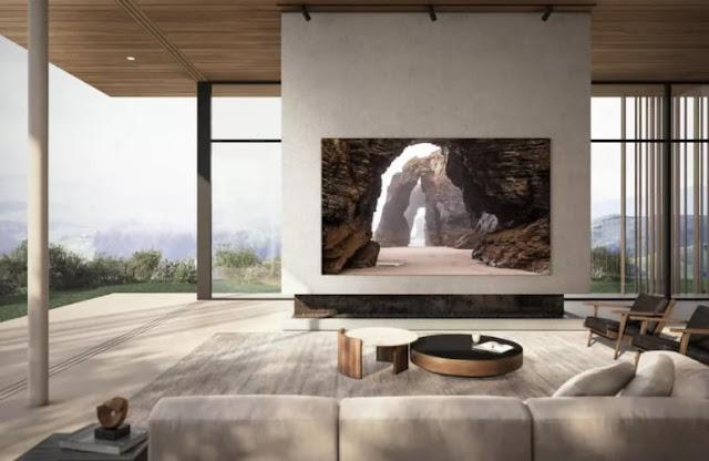 تطلق Samsung تلفزيون 110 بوصة بتقنية MicroLED ودقة 4K