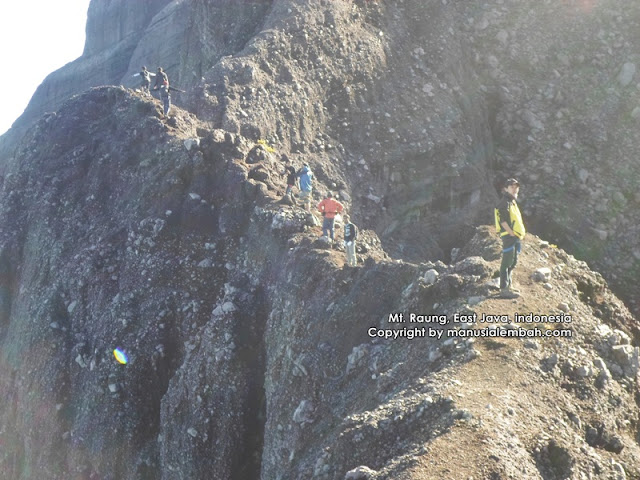 Jalur pendakian gunung raung via kalibaru