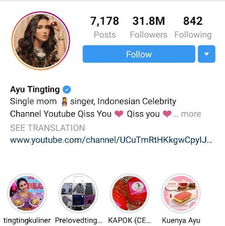 instagram.com/ayutingting92