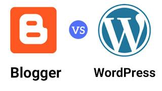 Wordpress Vs Blogger इन दोनों में से बेहतर प्लेटफ़ॉर्म कौन सा है?
