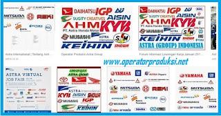 Persyaratan Astra Group :  Pria/Wanita Pendidikan Min SMA / SMK Sederajat semua jurusan Tinggi badan Pria minimal 164cm dan Wanita152cm.