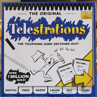 Telestrations Guessing Game Review Age 12+ Sent by Asmodee