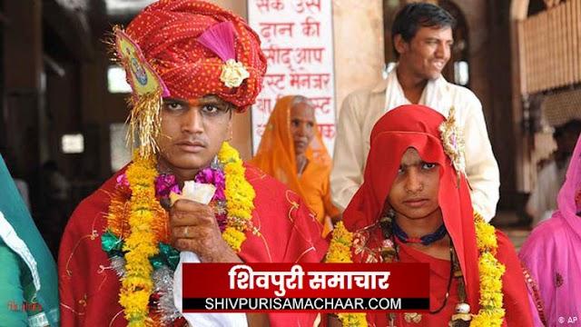 खनियांधाना में हो रहा था बाल विवाह, माता-पिता को हिदायत के बाद छोडा | khaniyadhana News
