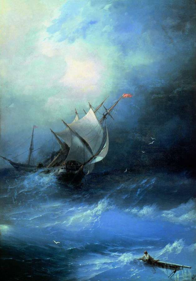 08-Storm--Arctic-Ocean-1864-Ivan-K-Aivazovsky-Иван-К-Айвазовский-Paintings-of-the-Sea-from-1840-to-1900-www-designstack-co