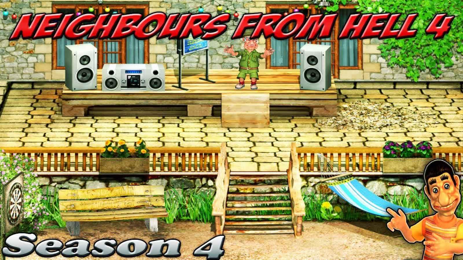 تحميل لعبة Neighbor From Hell 4 مضغوطة كاملة بروابط مباشرة مجانا
