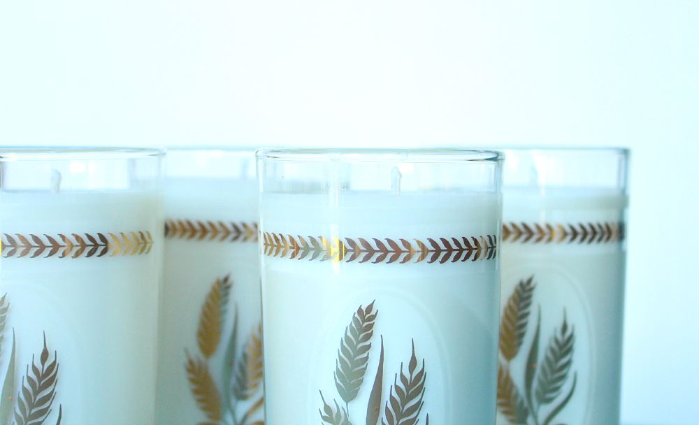 Upcycling vintage glasses