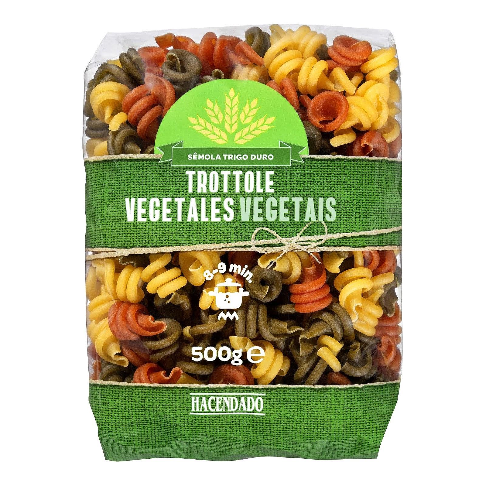 Trottole vegetales Hacendado