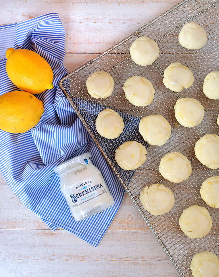 Galletitas de limon y yogur