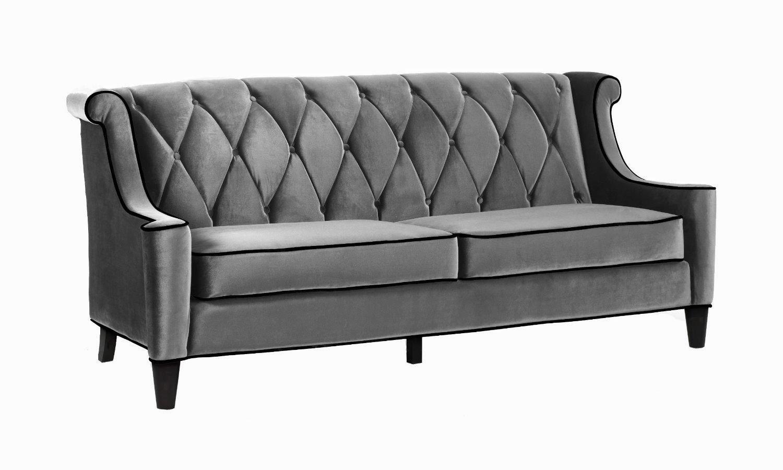 barrister sofa velvet