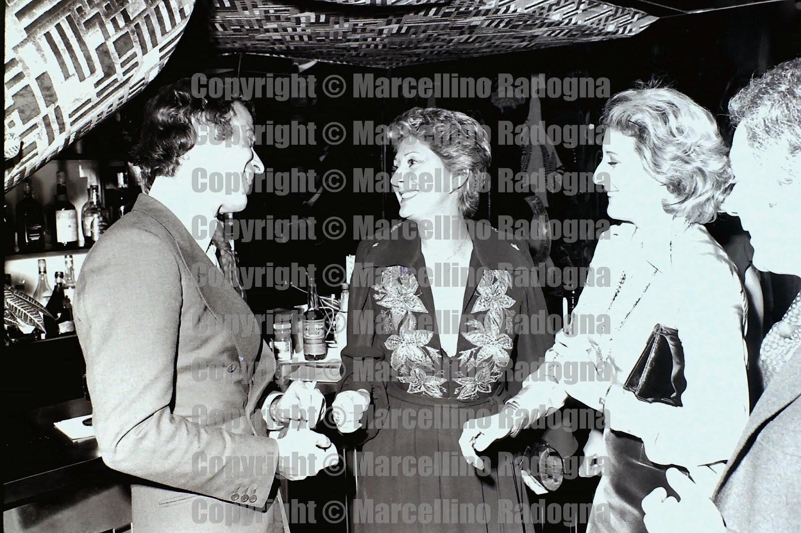Marcellino Radogna - Fotonotizie per la stampa: Franco Califano e Carla Da  Zara con la figlia Maura