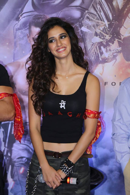 disha patani photos at bhaagi promotional event