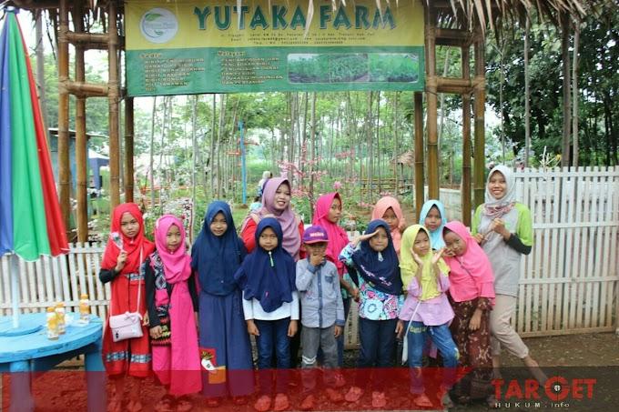 Siswa Siswi Bumi Aksara Learning Centre Ikuti Wisata Edukasi di Yutaka Farm