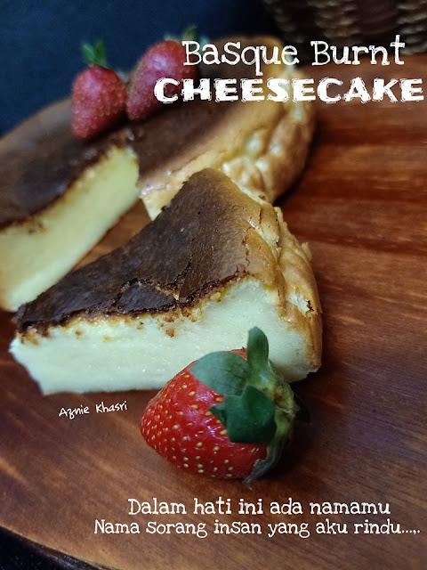 Resepi Burnt Cheesecake yang senang dan sedap