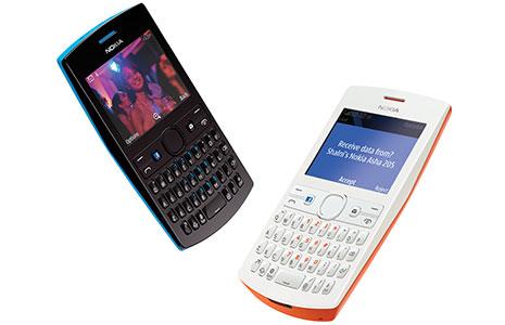Nokia Asha 205 hitam