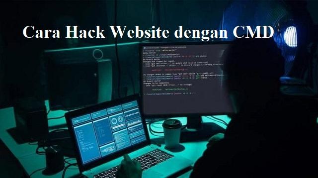 Cara Hack Website dengan CMD