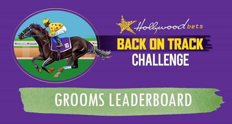Grooms Leaderboard - Hollywoodbets Back On Track Challenge