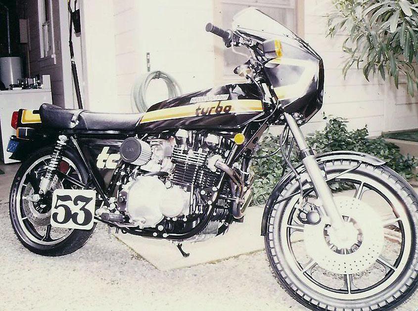 OddBike: Kawasaki Z1R-TC - The Psycho Turbo Z