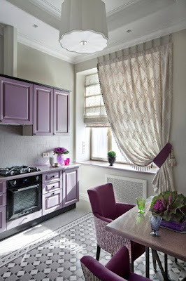 modern window curtain designs for kitchen 2019