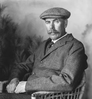 James Braid photographed in 1904