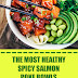 The Most Healthy Spicy Salmon Poke Bowls