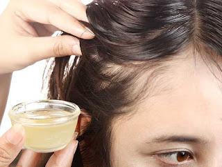 علاج تساقط الشعر الدهني