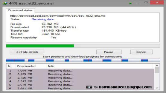 IDM 6.17 screenshot 2