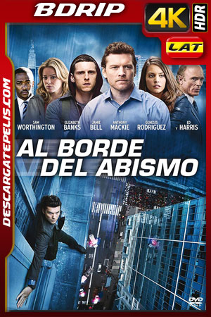 Al borde del abismo (2012) 4k BDrip HDR Latino – Ingles