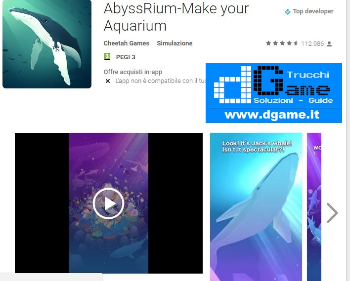 Trucchi AbyssRium-Make your Aquarium Mod Apk Android V1.2.1