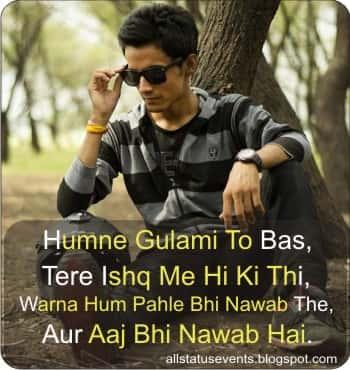 Attitude-Hindi-Status
