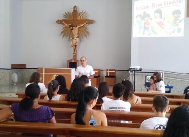 Encontro da IAM na Comunidade Nossa Senhora Aparecida, em Colatina (ES)
