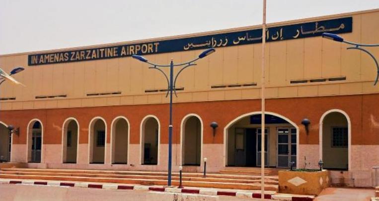 مطار عين أمناس زرزايتين In Amenas Zarzaitine Airport