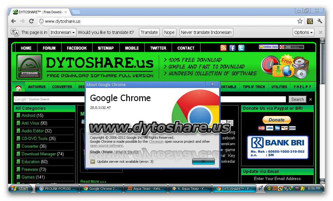 Google Chrome Offline Installer Windows Xp