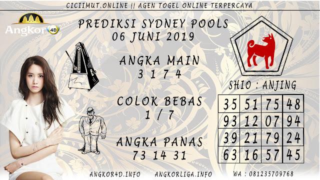 PREDIKSI SYDNEY POOLS 06 JUNI 2019